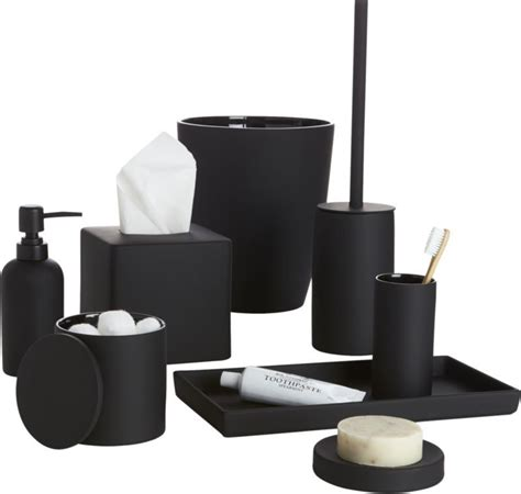 Black White And Bathroom Accessories by Black And White Bathroom Accessories Www Pixshark