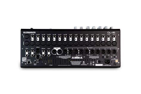 Mixer Qu 16 qu 16 rackmountable digital mixer for live studio and