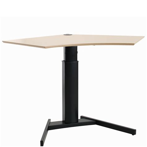 using a sit stand desk conset small electric sit stand desk 501 19 basic hsi