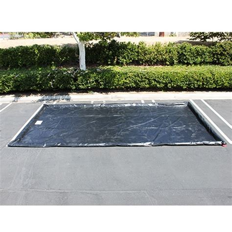 10 water mats husky heavy duty water containment mat black 10 ft x