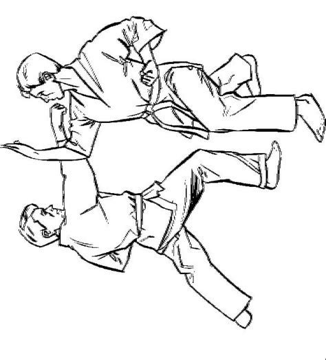 coloring page karate n 10 coloring pages of karate