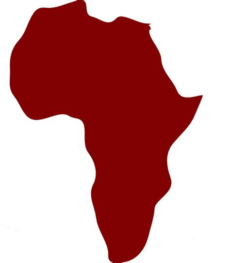 africa map vector png africa clip at clker vector clip