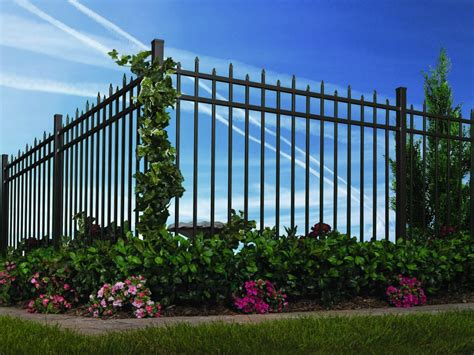 decorative fence definition chain link fence products buy ornamental aluminum fence