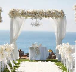 Decorated Wedding Arbors Wedding Decor Canopy And Arch Inspiration
