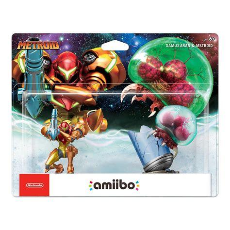 Amiibo Samus Aran Metroid Series upc 045496893330 nintendo amiibo figure 2 pack samus aran metroid pre order