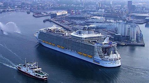 largest ship in the world harmony of the seas largest cruise ships full documentary