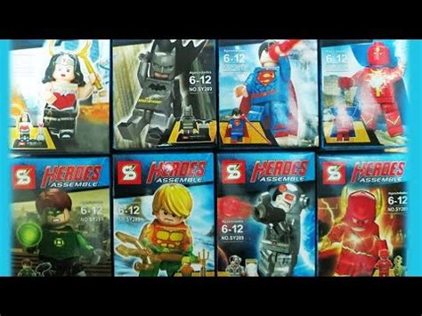 Bootleg Lego Justice League Flash lego dc superheroes justice league sheng yuan bootleg sy289 review