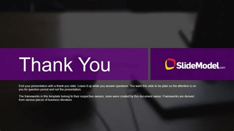 thank you page template studies thank you page slidemodel