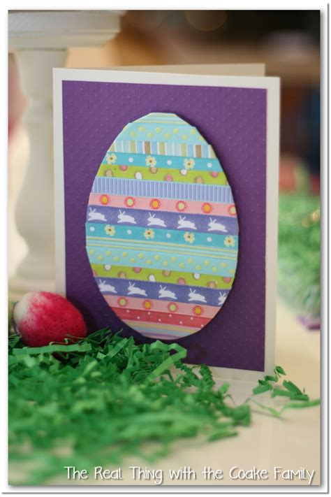 make a easter card handmade cards simple easter card babysitting academy
