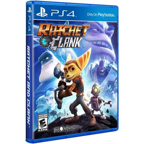 Stok Terbatas Ps4 Ratchet And Clank Sony Ratchet And Clank Ps4 3000550 B H Photo