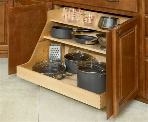 Blind Kitchen Cabinet Organizer Kitchen Cabinet Pan Organizer Kitchen Storage Cabinet Pot Lid Rack Cover Holder The Useful Of