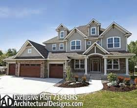 5 Car Garage Plans Plan 73343hs Storybook House Plan With 4 Car Garage