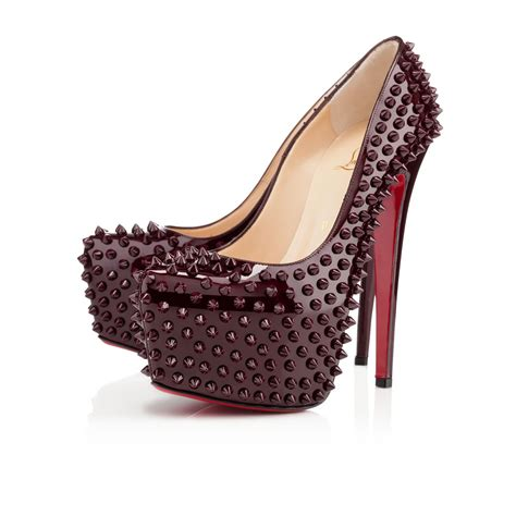 Christian Louboutin Platform Heels by Christian Louboutin Daffodile Shoes Sale Spiked Pumps