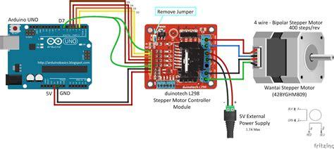 motor driver arduino arduino basics nextion enhanced stepper motor piano project