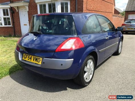 renault megane 2004 blue 2004 renault megane dynamique 16v for sale in united kingdom
