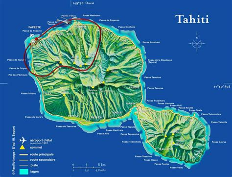 map of tahiti tahiti scenic helicopter tour polynesia reviews pictures map visual