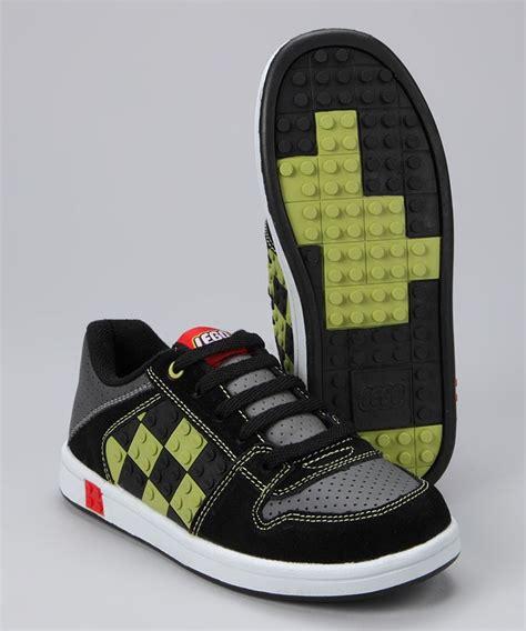 black lime concrete sneaker