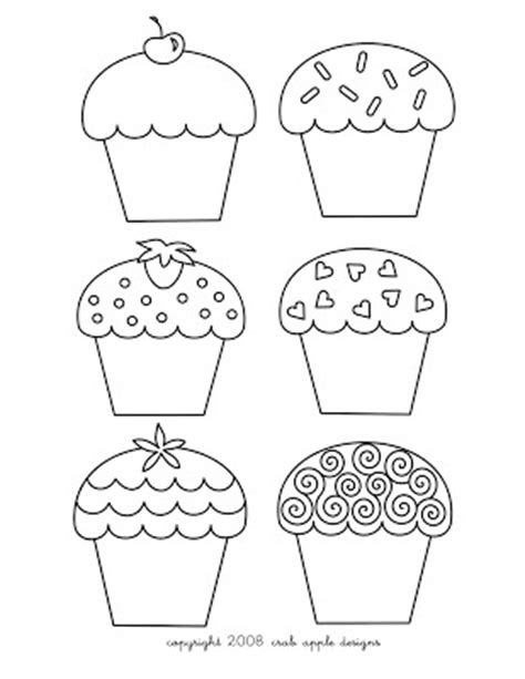 preschool coloring pages cupcakes 17 best images about kindergarten calendar time on