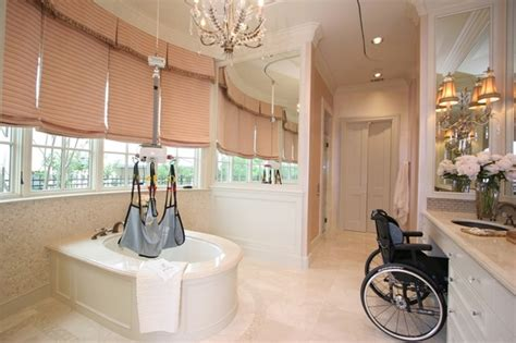 Universal Design Kitchens by Accessible Master Bath Traditional Bathroom Dallas