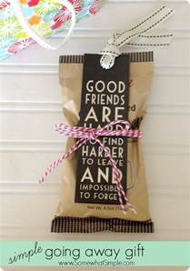 Gifts For Friends - going away gifts for friends 3 simple ideas from