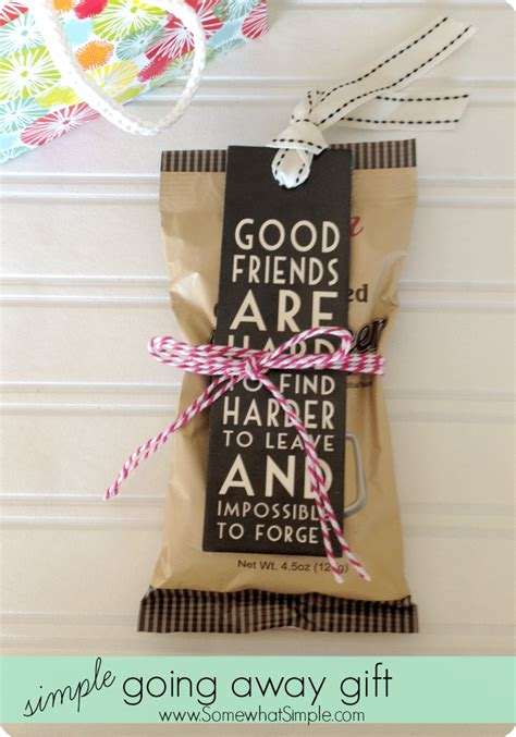 gift for friends going away gifts for friends 3 simple ideas from