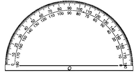 printable 6 inch protractor printable protractor actual size the miter saw angle
