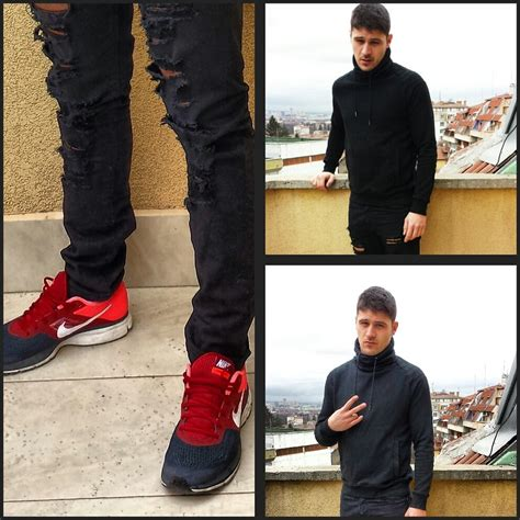 what to wear with sport shoes ivailo alexiev zara ripped nike running shoes
