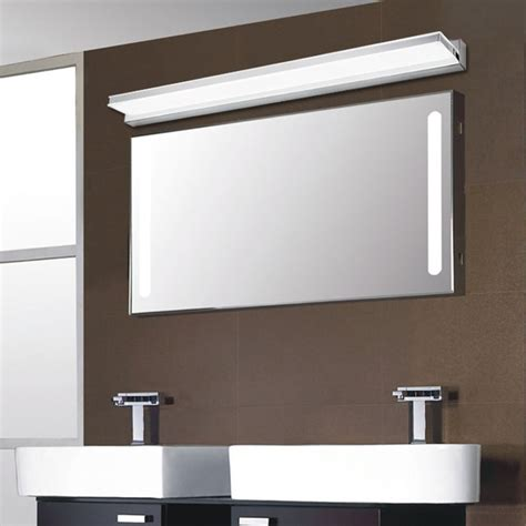 acrylic bathroom mirror modern right angle corner acrylic 7w 42cm led bathroom