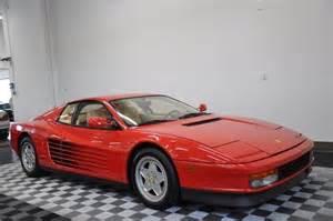 1991 testarossa rosso corsa crema serviced in 2014
