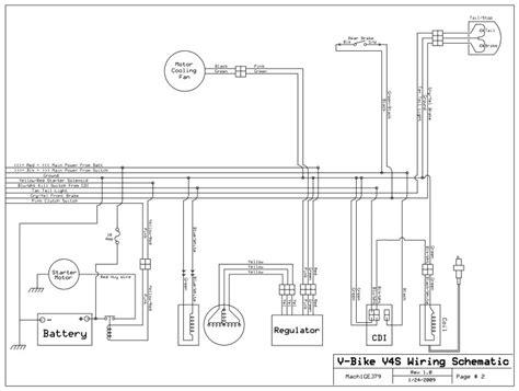 wiring diagram  vbike   atvconnectioncom atv enthusiast community