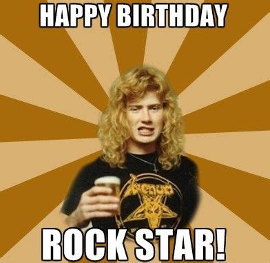 Heavy Metal Birthday Memes - dave mustaine birthday meme worleygig com pinterest dave mustaine and meme