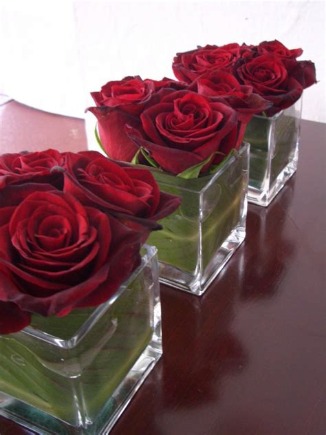 google pink roses simple red rose arrangement google search simply red