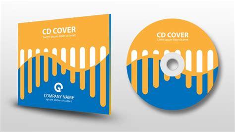 Cover Cd illustrator tutorial cd cover design