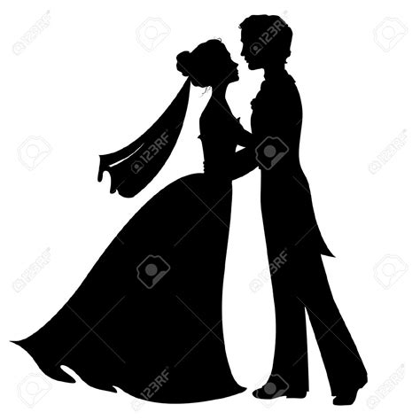 Wedding Silhouette by Wedding Silhouette Images Search Silhouette