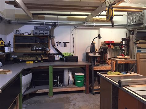 garage work shop craig s garage workshop the wood whisperer