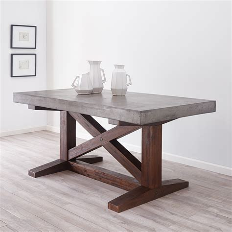 small trestle table 72 inch nativestone 174 trestle table trails