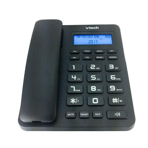 telefono casa tel 233 fono de casa vtc500 escritorio negro