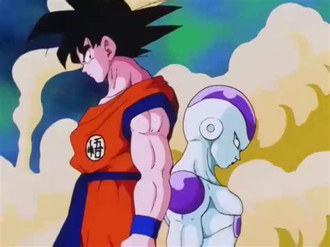 imagenes de goku vs freezer son goku vs freezer forma original dragon ball wiki