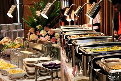 Hizon S Catering Grand Food Tasting Hizonsfoodtasting Buffet Set Up For Catering
