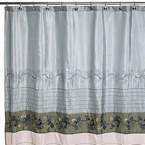 croscill shower curtains caroline fabric shower curtain by croscill bed bath beyond
