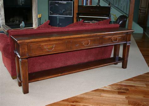 Sofa Tables Tribes Interiors Custom Sofa Table