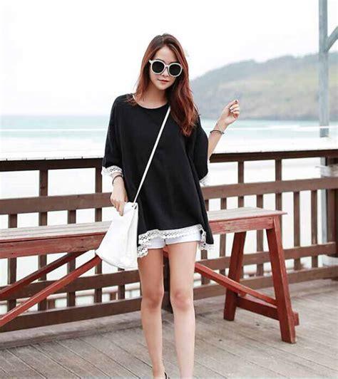 Baju Atasan Wanita Murah Atasan Korea Import Louise Top baju atasan wanita korea cantik 2016 model terbaru jual murah import kerja