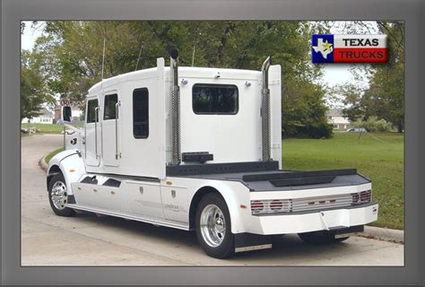 Custom Hauler Conversion Peterbilt 335 GTL Texas Trucks