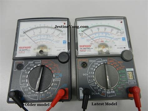 Multitester Sunwa Analog learn from my mistake in using sunwa analogue multimeter