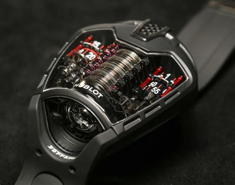 Hublot Ferrari by Hublot Mp 05 Laferrari Watch With Power For 50 Days