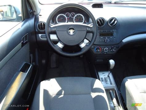 Chevrolet Aveo 2006 Interior by Charcoal Black Interior 2007 Chevrolet Aveo Ls Sedan Photo