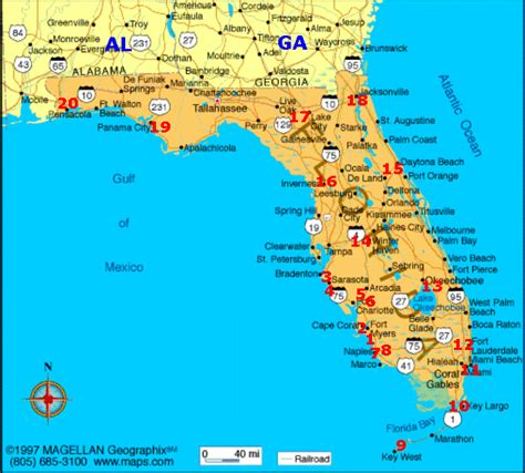 florida cground map cgrounds in florida going cing