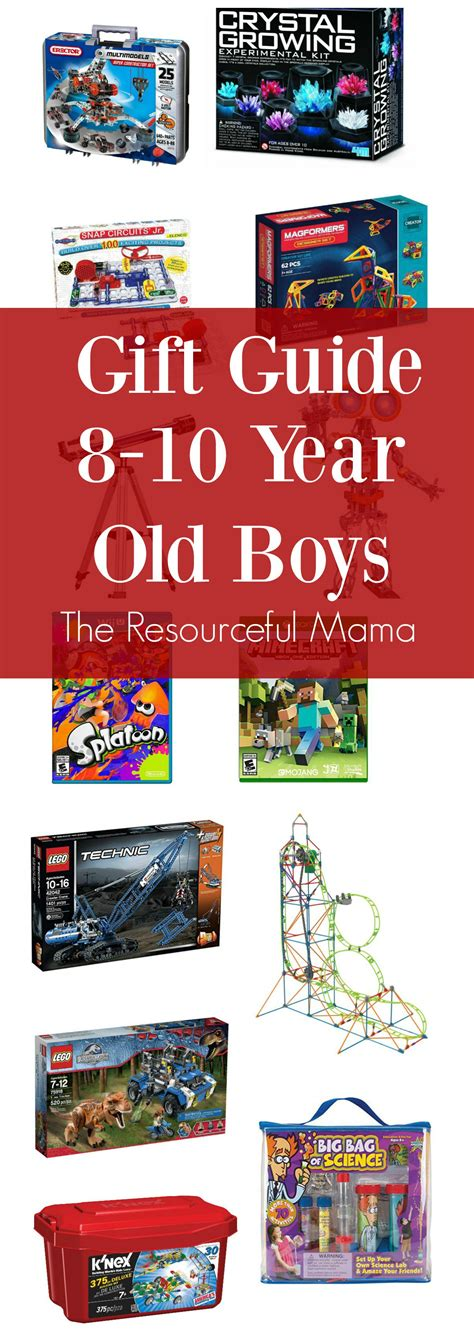 gift ideas 8 10 year old boys