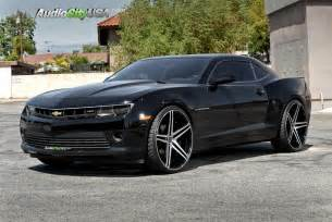 2015 chevy camaro rs 24 quot versante wheels 233 black machine 275 25