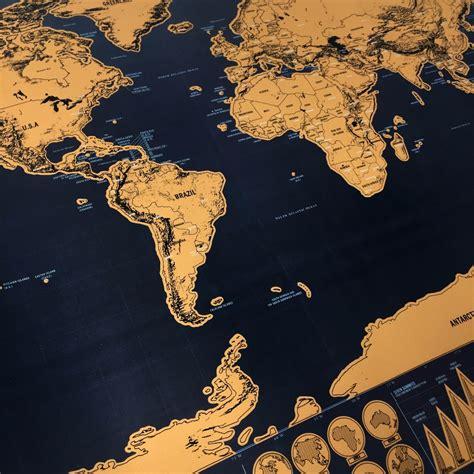 Poster Peta Dunia Hiasan Dinding poster peta dunia hiasan dinding brown jakartanotebook